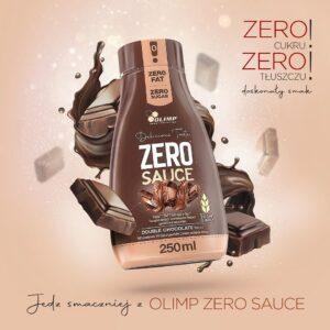 Nowa gama produktów w ofercie Olimp Sport Nutrition - smak podwójna czekolada.