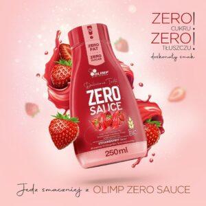 Olimp Sport Nutrition oferuje także sos o smaku truskawki.