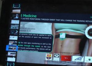 Innowacyjna technologia zamienia pot w inteligentny płyn, a skórę w platformę danych